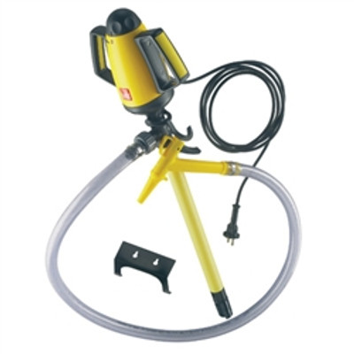 """Chemical Carboy Pump, Electric, 19"""" PP for Acids"""