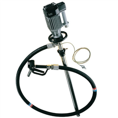 """Drum Pump Set for Flammables, Electric, 39"""""""