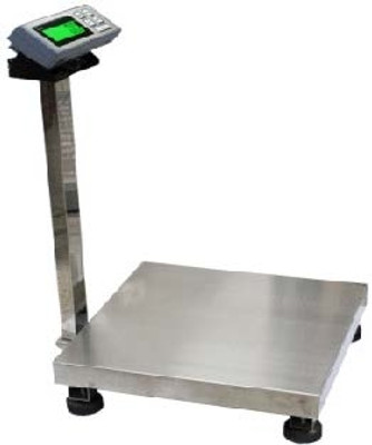 Large Bench Scale, Accurate to 500 lbs, 0.1 lb Res, LCD Screen