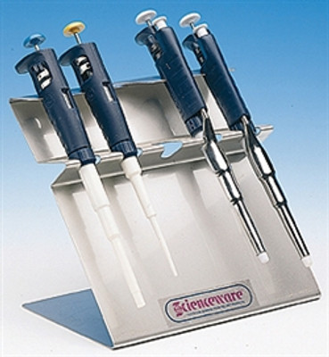 Stainless Poxygrid Microliter Pipettor Rack