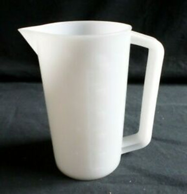 Nalgene® 1220-1250 HDPE Beaker, Handle, Graduated, 1 Liter, case/6