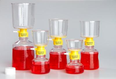 Nalgene® 155-0045 150mL Rapid-Flow Filter Unit 0.45um, SFCA, 50mm, case/12