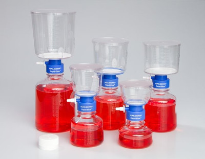 Nalgene® 166-0045 500mL Filter Unit with PES Membrane, Sterile, 75mm, case/12