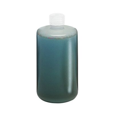 Nalgene® Autoclavable Bottles, 2 Liter Narrow Mouth Polypropylene, case/6