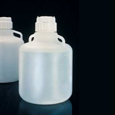 Nalgene® 2210-0040 Carboy with Handles, 83B 15 Liter LDPE, Labware, case/4
