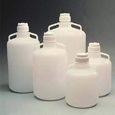 Nalgene® 2210-0050 Carboy with Handles, 83B 20 Liter LDPE, Labware, case/4
