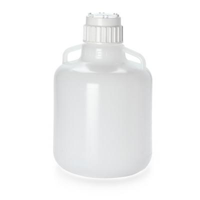 Nalgene® Vacuum Carboys, 10L Polypropylene Heavy Duty, Cap 83B, case/6