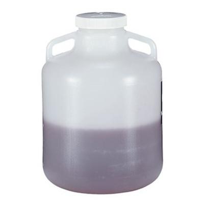 Nalgene® 2234-0020 Carboy, Handles, 10 Liter LDPE, 100-415 Screw Cap, case/6