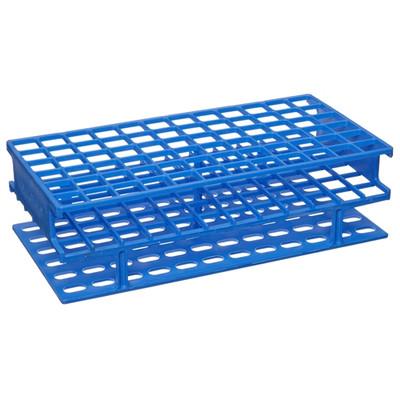 Nalgene® Test Tube Rack, Unwire, Blue, Polypropylene 13mm, case/8