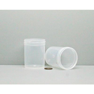 Bulk 3 oz 53mm PP Jars, 100mL (no caps), case/336