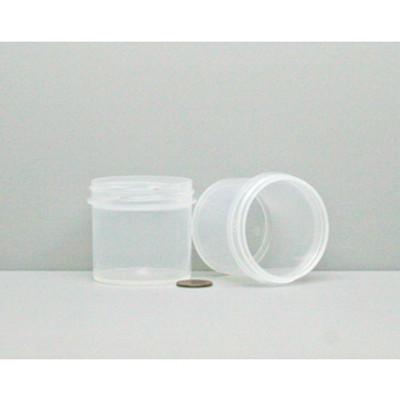 Bulk 3 oz 58mm PP Jars, 80mL (no caps), case/432