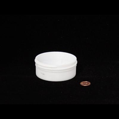 Bulk 3 oz 83mm White PP Jars, 100mL (no caps), case/700