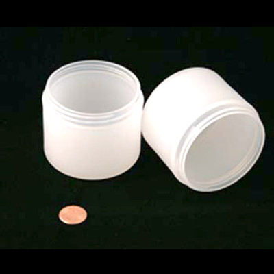 Bulk 4 oz 70mm PP Thick Wall Jar (Frosted) 150mL (no caps), case/200