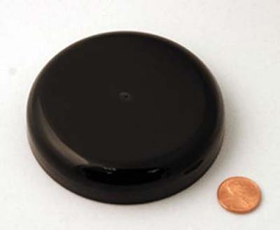 Black PP Domed Cap, Each, 89-400