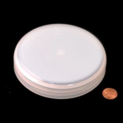 120mm (120-400) Natural PP Heat Seal Lined Domed Cap, Each