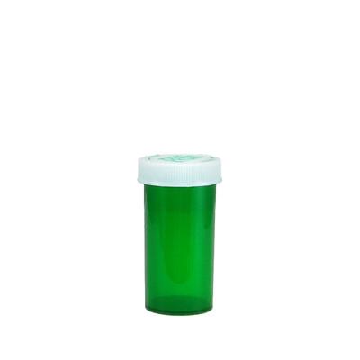 Green Pharmacy Vials, Child-Resistant, Green, 13 dram (48mL), case/320