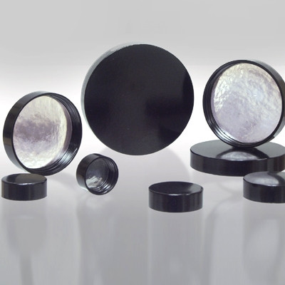 48-400 Black Phenolic Cap with Aluminum Foil Liner, Each