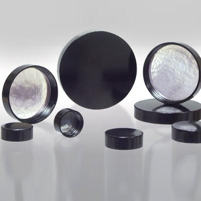53-400 Black Phenolic Cap with Aluminum Foil Liner, Each