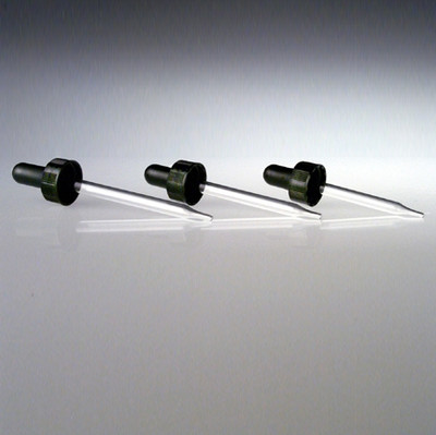 20-400 Black Thermoset Glass Dropper Assembly-medium, case/12