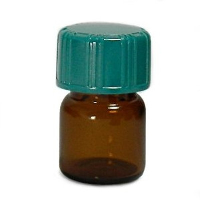 Amber Glass Vials, 1.85mL with Green Thermoset F217 & PTFE Lined Caps, case/144