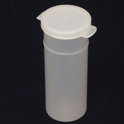 d51a43123a8d 8oz (250ml) Natural Polypropylene Hinged Vials, case/1000