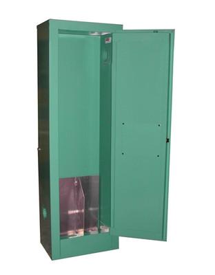 Medical Oxygen Gas Cylinder Storage Cabinet 2 Cylinders