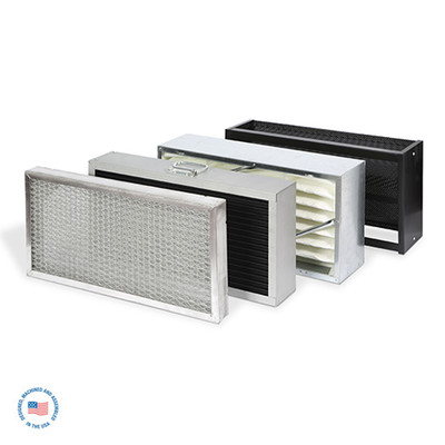 Primary Filter for E-1400, 4 layer: Mesh, Particle, Oil/ Mist, Carbon