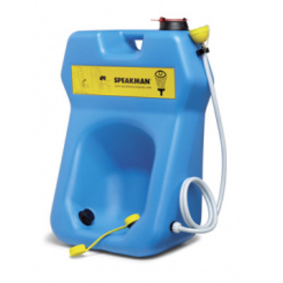 Portable Eyewash Station / Body Drench, 20 gal gravity-feed