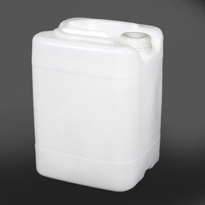 Rectangular Carboy, 5 gallon HDPE, Tamper Evident, Stackable