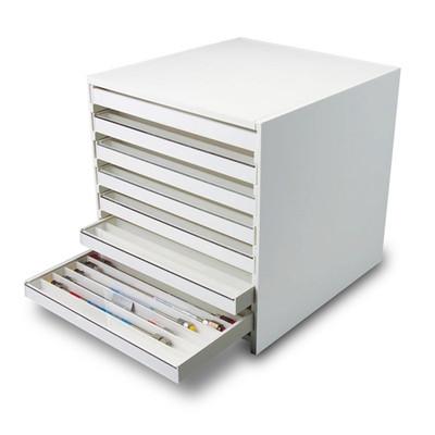 "HPLC Column Cabinet, 108 Adjustable Compartments, Acrylic door, 16.4"" x 16.5"" x 15"""
