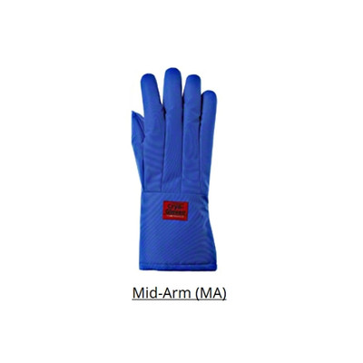 Tempshield MALWP Waterproof Cryo-Gloves, Mid-Arm Length, 1 Pair
