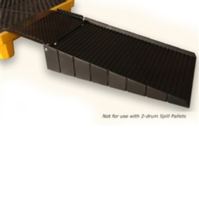 Small Spill Pallet Ramp for single drum (P1) Drum Pallets