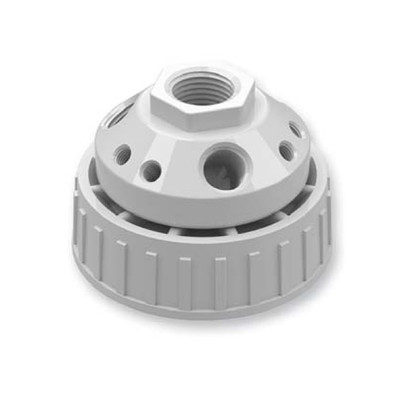 10-Port Cap, Waste Manifold, 70mm for Nalgene® Carboy, Complete Kit