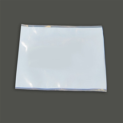 """PTFE Sample Bags, 2.5 mil, Open End, 7"""" x 6"""", pack/10"""