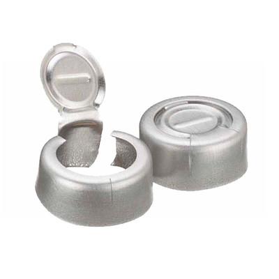 WHEATON® 13mm Crimp Seal, Tear-Off, Aluminum, Unlined, case/1000