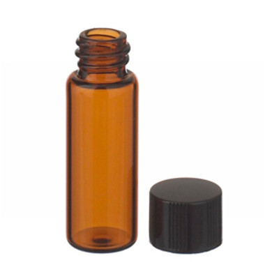 WHEATON® 2mL, Economy Vials, Glass Amber, 8-425 Caps, Rubber, case/200