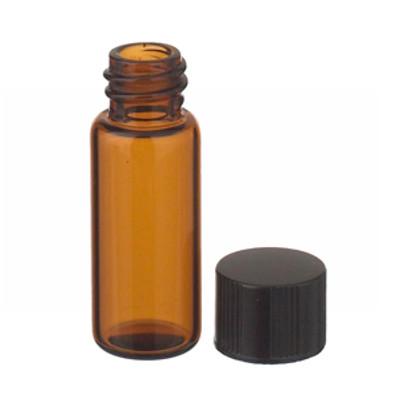 WHEATON® 1.8mL, Economy Vials, Glass Amber, 8-425 Cap, PTFE Liner, case/200