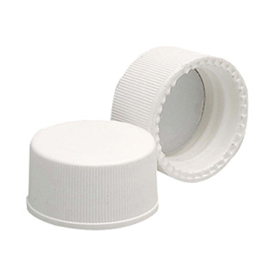 WHEATON® 15-425 PP Cap, White, Foamed Poly Liner, case/144