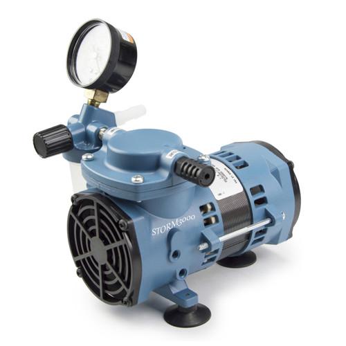 Chemical Resistant Diaphragm Vacuum Pump, 115V Economy, 20 LPM