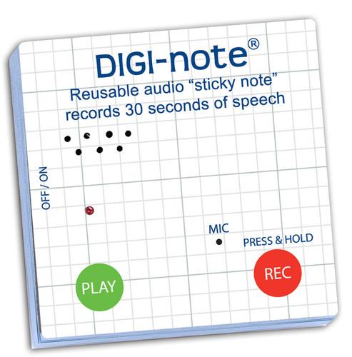 Digi-Note Voice Recording Memo Note Pad