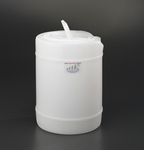5 gallon drum, Plastic with cap size 70mm