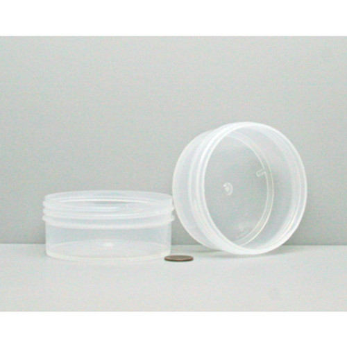 Bulk 4oz 89mm Polypropylene Jars 125ml No Caps Case510