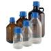 WHEATON® 1000mL Bottle, 45mm, Amber Glass, Polyethylene Liner