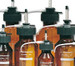 WHEATON® 0.2-2mL Compact 501 Bottle-Top Dispensers, 1000mL Amber Glass Reservoir