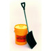 "Collapsible Emergency Response Shovel, 37"", Poly Scoop"