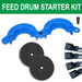 Drum Lock Safety Clamp Starter Kit (Style & Color Options)