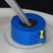 Silicone Plug Fittings for Drum Safety Clamps, pack/10