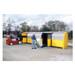 Hard Top 20-Drum Storage Building, Poly, Choose Drain