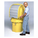 Hard Top 1-Drum Secondary Containment Tank, Choose Drain