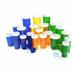 Amber Pharmacy Vials, Child Resistant Caps, 6 dram (22mL), case/600